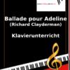 Ballade pour Adeline (Clayderman) Online Klavierunterricht