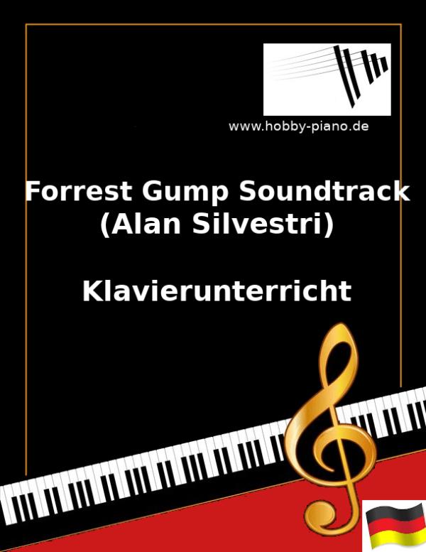 Forrest Gump Soundtrack Teil 1 (Silvestri) Online Klavierunterricht