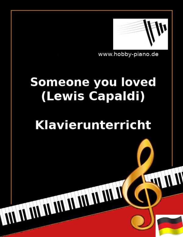 Someone you loved (Lewis Capaldi) Online Klavierunterricht