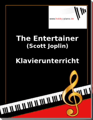 The Entertainer (Scott Joplin) Online Klavierunterricht