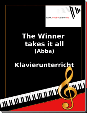 The Winner takes it all (Abba) Online Klavierunterricht