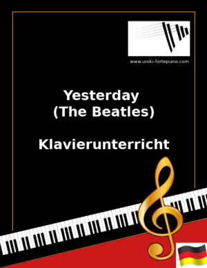 Yesterday (The Beatles) Online Klavierunterricht